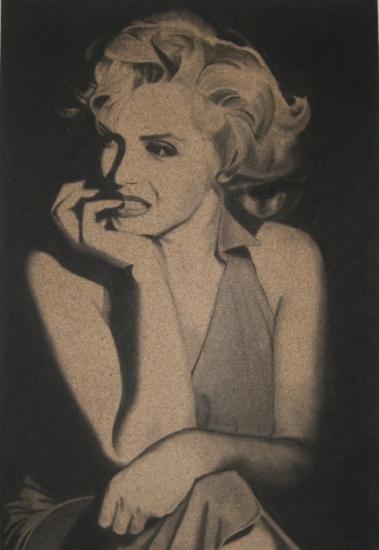 Marilyn Monroe by DOM